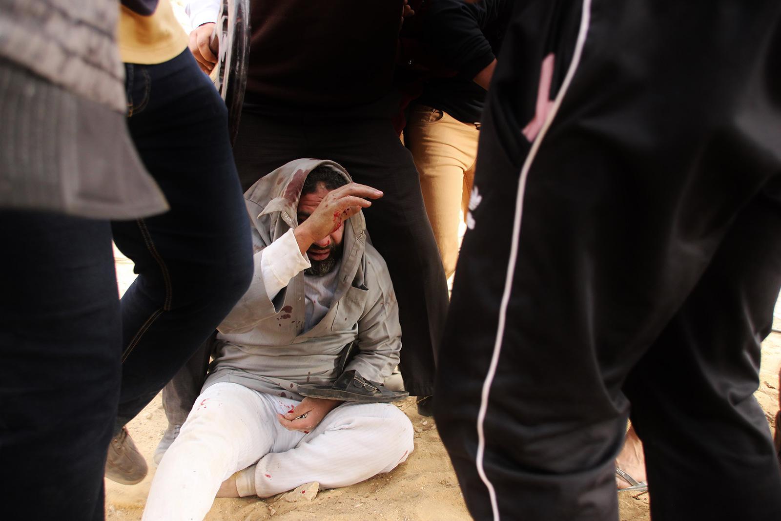 clashes between muslim brotherhood islamist activist egypt cairo