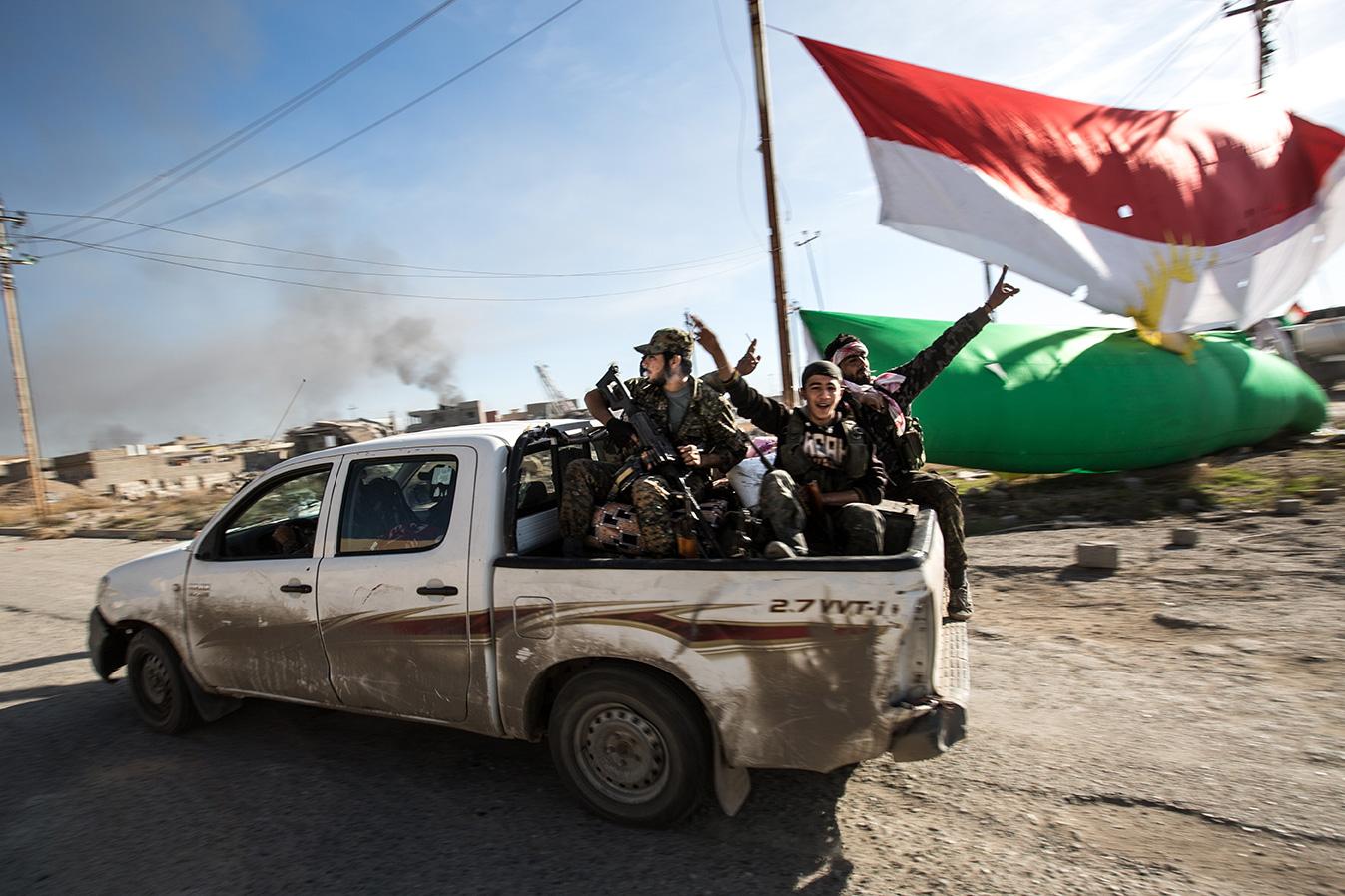 celebrating liberation sinjar iraq