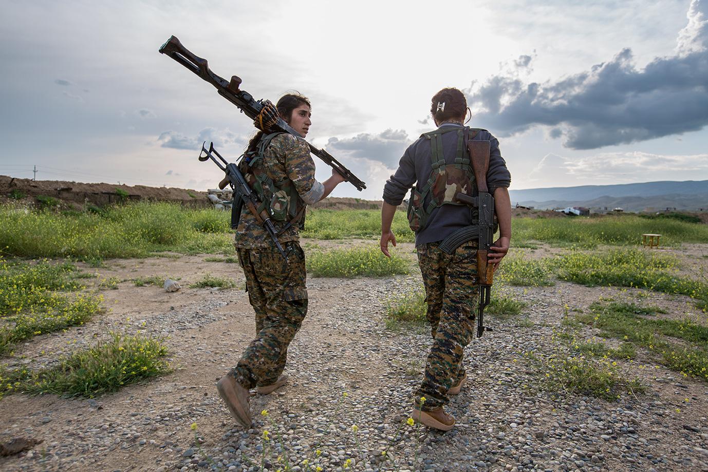 yesidi women way fight isis iraq sinjar